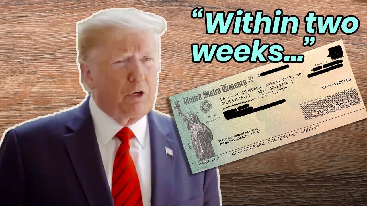Stimulus Check: When did Trump say the second stimulus check ...