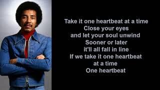 One Heartbeat by Smokey Robinson (Lyric Video)