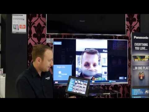 Panasonic Viera Remote Control 2 App Demo & Setup part 2