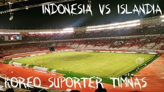 Download Video FULL Aksi Suporter Timnas Pada Laga INDONESIA vs ISLANDIA || Koreografi MP3 3GP MP4
