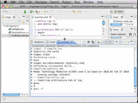 ModelSim on Mac OS X