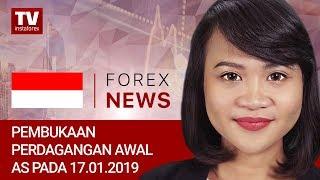 InstaForex tv news: 17.01.2019: Trader membuka taruhan long pada USD ditengah data positif