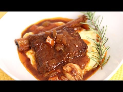 Braised Short Ribs Recipe - Laura Vitale - Laura In The Kitchen Episode 654