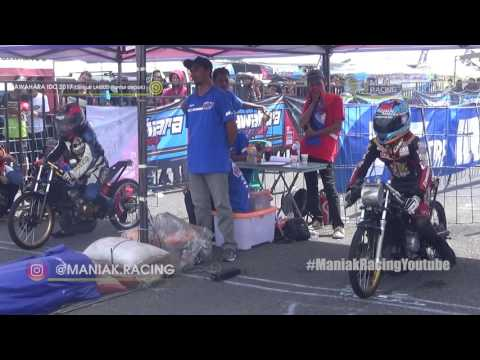 FULL kelas FFA event drag bike KAWAHARA IDC 02 mei 2017 YOGYAKARTA terbaru