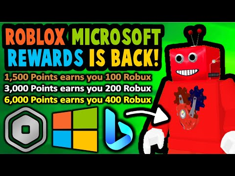 Roblox Microsoft Rewards Is Back? But not as good...