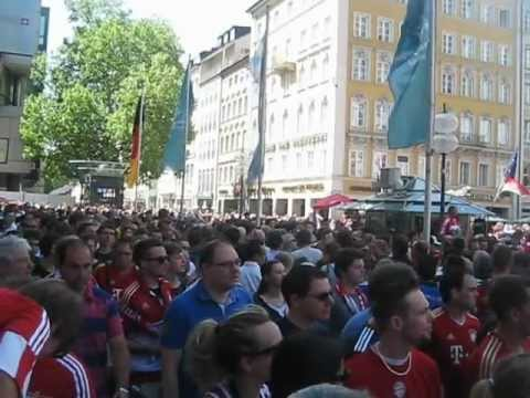 Bayern Munich fans before 2012 Champions League final