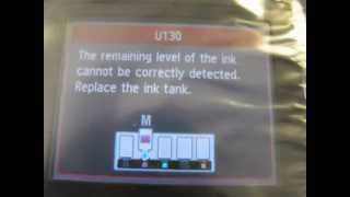 HOW TO TURN OFF THE INK MONITOR ON THE CANON MX - MG SERIES PRINTERS USING COC™CHIPS
