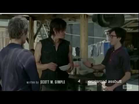 The Walking Dead Funny Moments Crack Humor PT.2