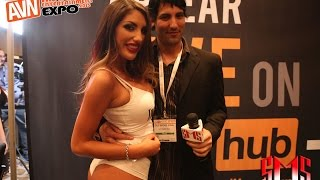 August Ames Tells Favorite Position and Shows Tattoos AVN 2015