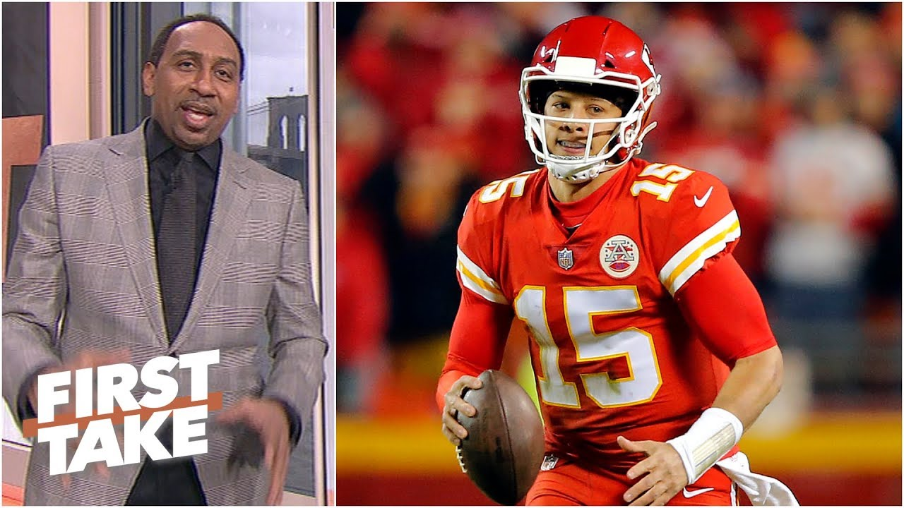 Patrick Mahomes tops Stephen A.'s NFL MVP list | First Take