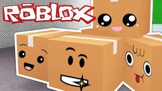 Roblox - Blox Hunt - I'M A BOX!?