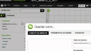 Autodesk Homestyler uso sencillo