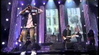 "B.o.B Ft. Bruno Mars ""Nothin' On You"" Live @ Grammy Nominations"