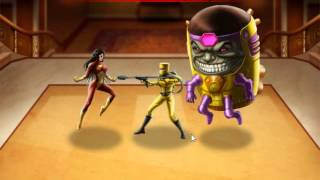 Marvel: Avengers Alliance, Season 2, Chapter 1, Mission 4, Heroic Battle Updated Spiderwoman.