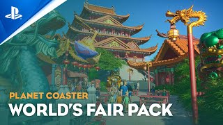 Planet Coaster: Console Edition - World's Fair Pack Trailer | PS5, PS4