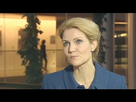 euronews interview - Danish PM: What's good for euro is good for Europe