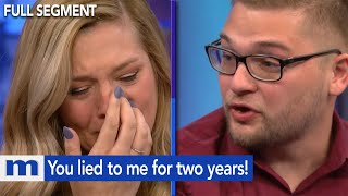 You lied to me for two years! | The Maury Show