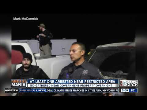 Sheriff: At least 1 arrested after storm Area 51 attempt