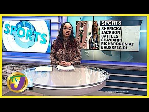 Jamaica's Shericka Jackson vs Sha'carri Richards 200m Diamond League - Sept 2 2021