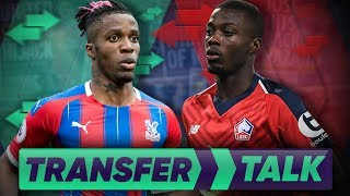 Manchester United Close To Confirming £70M Nicolas Pepe Signing!?   Transfer Talk