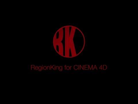 RegionKing for CINEMA 4D Tutorial