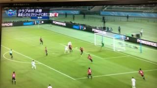 [ハイライト]2016クラブW杯決勝 レアルマドリードVS鹿島アントラーズ