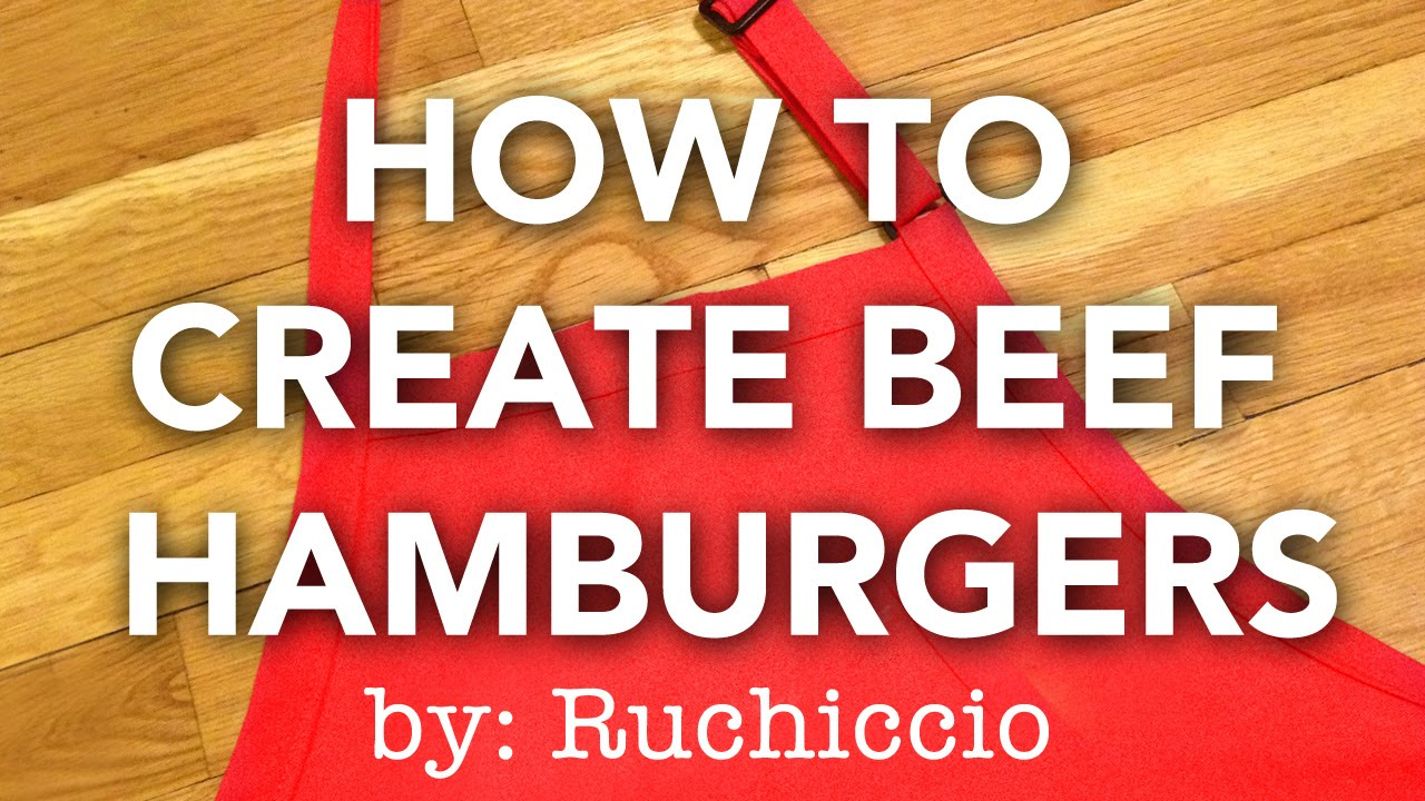 how to make hamburger patties without breadcrumbs