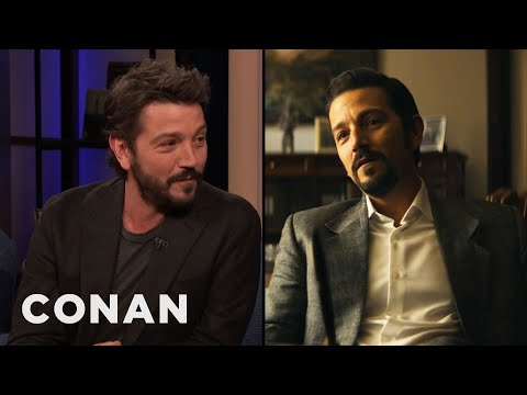 """Diego Luna: """"Narcos: Mexico"""" Is A Story That Needs To Be Told - CONAN on TBS"""