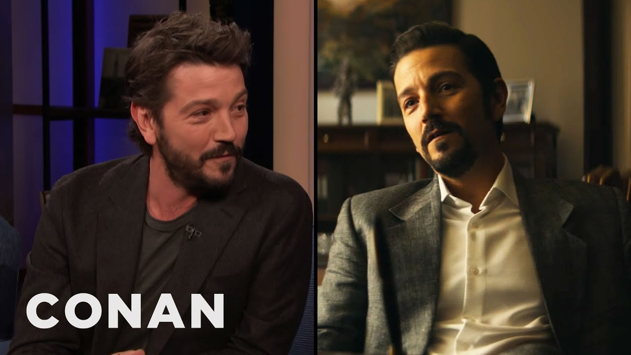"Download Diego Luna: ""Narcos: Mexico"" Is A Story That Needs To Be Told - CONAN on TBS"
