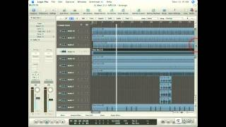 Logic 403: Mixing RB - 04. Arranging The Track