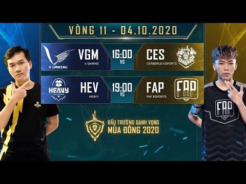 VGM có thêm 1 điểm, FAP giành lại vị trí thứ 2 trên BXH - Vòng 11 Ngày 2 - ĐTDV mùa Đông 2020