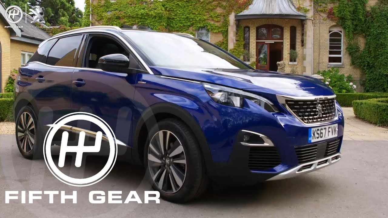 fifth gear ad: peugeot 3008 suv icockpit review - youtube