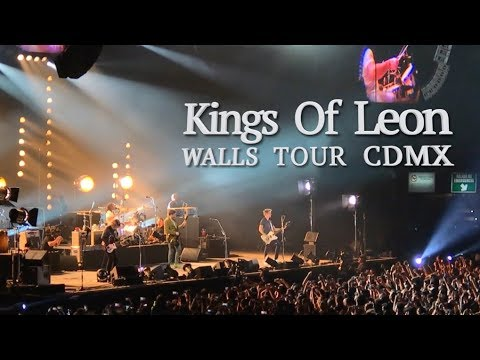 Kings Of Leon Walls Tour CDMX 2017