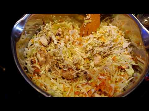 Тушеная капуста с грибами / Braised cabbage with mushrooms
