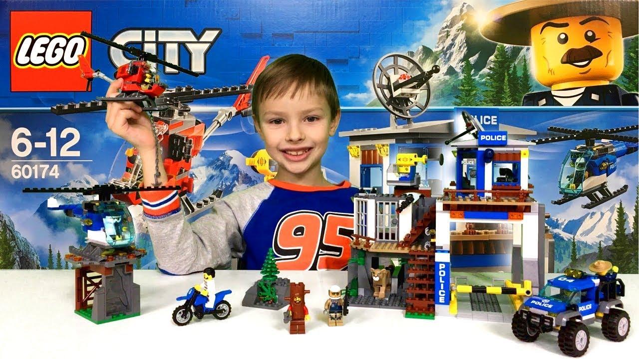 Górski Posterunek Policji Recenzja Lego City 60174 Nowość Youtube