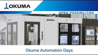 Automation Days 2020 - 2SP-2500H mit Okuma Portalladesystem