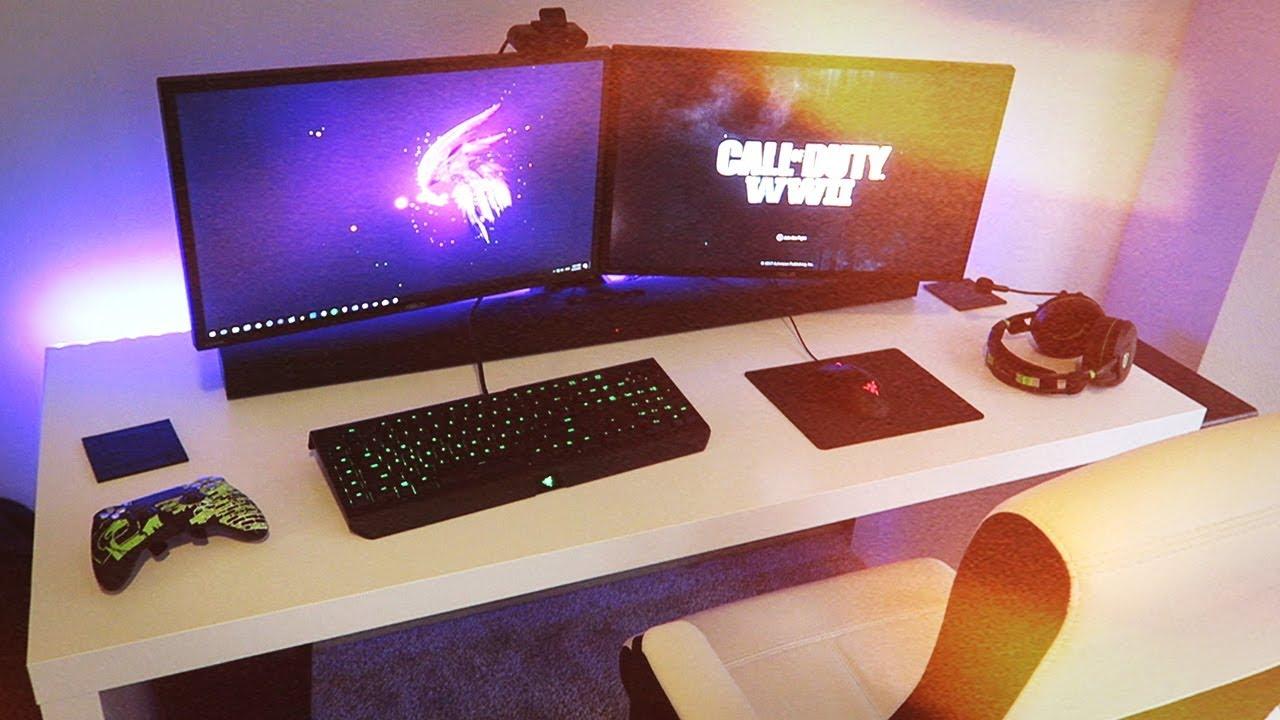 My New 2018 Gaming Setup