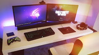 MASSIVE PC Gaming Setup 2018