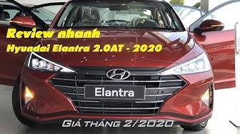 ELANTRA 2020 | Giá xe Hyundai Elantra 2.0AT | Video 1080p | HYUNDAI CẦN THƠ