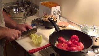 Классический итальянский соус (готовим фузилли).