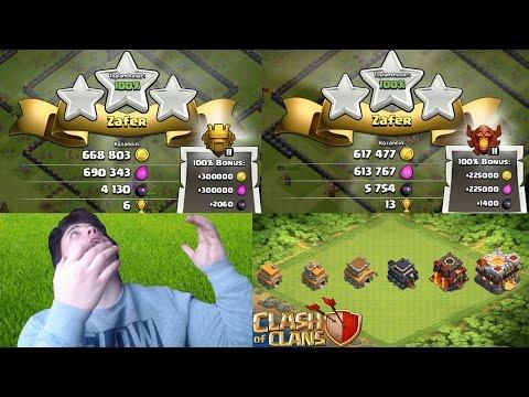 COC!! Kara İksir Nasıl Kasılır (Tüm Seviyeler) Clash of Clans