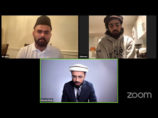 Special Jalsa Salana UK 2021 Weekly Discussion   08/13/21