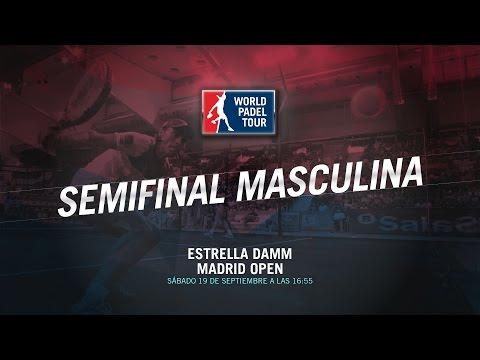 DIRECTO | SEMIFINALES MASCULINAS Madrid Open | World Padel Tour 2015