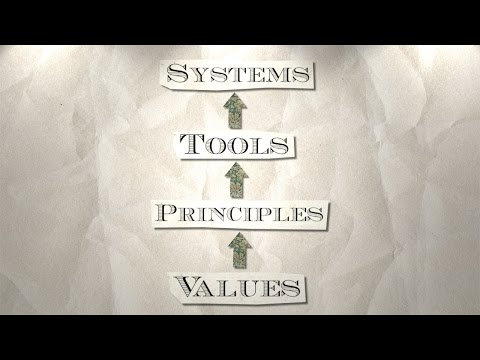 Ep. 4: Values, Principles, Tools, Systems