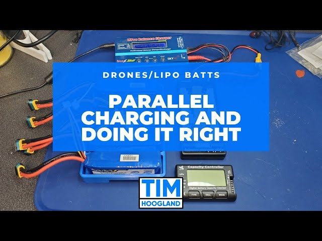 Parallel Charging and Doing It Right | Livestream | Drones LiPO Batteries