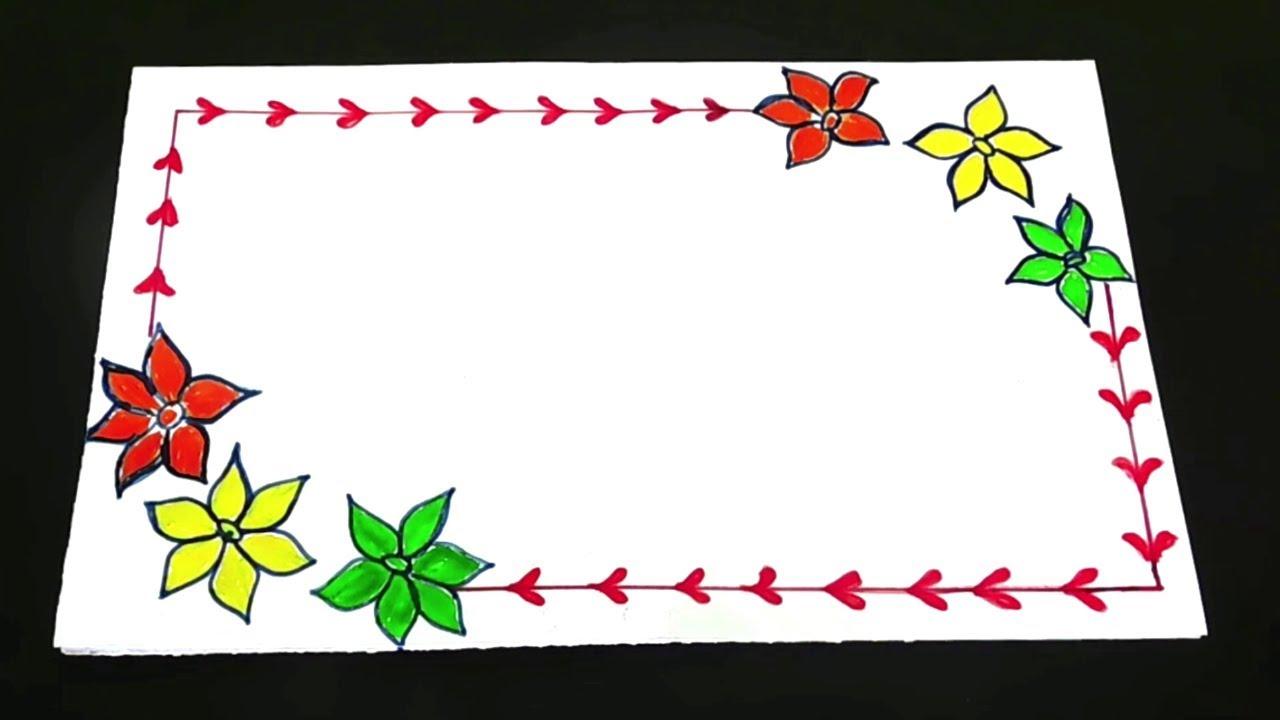 Kids School Border Designs On Paper Project Design Corner