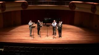 Bourgeois Trombone Quartet, STS 2014