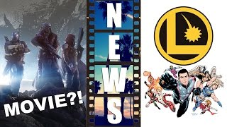 Bungie's Destiny from Video Game to Movie?! Legion of Superheroes Movie?! - Beyond The Trailer