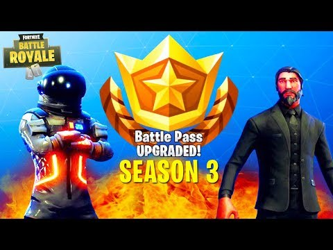UNLOCKING EVERYTHING in Season 3 of FORTNITE (John Wick, Dark Voyager & More)