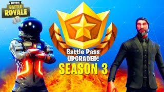 UNLOCKING EVERYTHING in Season 3 of FORTNITE (John Wick, Dark Voyager & More) | Chaos